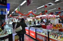 Mercado del teléfono celular en China Fotos de archivo libres de regalías