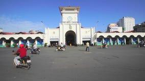 Mercado del thanh de Ben almacen de metraje de vídeo