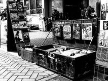 Mercado del vintage en Sopron fotografía de archivo
