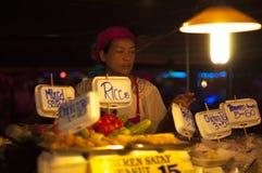 Mercado do alimento Imagens de Stock