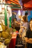 Mercado do alimento da noite Fotos de Stock
