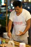 Mercado do alimento da noite Foto de Stock Royalty Free