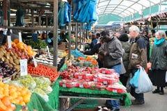 Mercado do alimento de Birmingham Foto de Stock