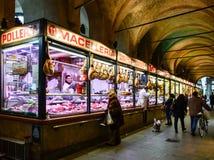 Mercado do alimento em Pádua (Padua), Itália Fotos de Stock