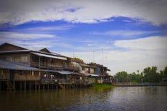 Mercado do beira-rio Fotos de Stock