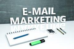 Mercado do email Imagens de Stock Royalty Free