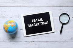 Mercado do email fotos de stock royalty free