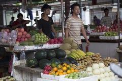 Mercado do fazendeiro Foto de Stock Royalty Free
