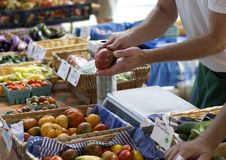 Mercado do fazendeiro Fotos de Stock