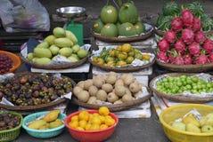 Mercado do fruto exótico Fotos de Stock