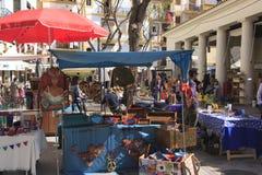 Mercado do hippy de Ibiza fotografia de stock royalty free
