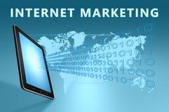 Mercado do Internet Imagem de Stock