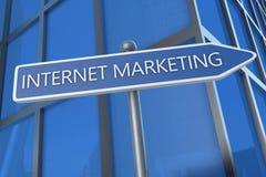 Mercado do Internet Fotos de Stock