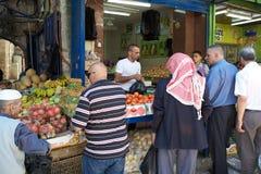 Mercado do Jerusalém Fotos de Stock Royalty Free