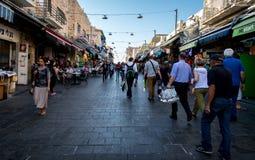 Mercado do Jerusalém Imagem de Stock Royalty Free