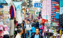 Mercado do kok de Mong Fotos de Stock