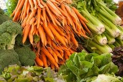 Mercado do legume fresco Foto de Stock
