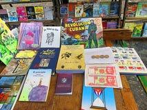 Mercado do livro da segunda mão em Havana Fotografia de Stock