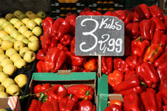 Mercado do mantimento Imagens de Stock Royalty Free