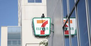 Mercado do mantimento de Seven Eleven Imagem de Stock
