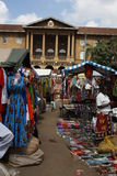 Mercado do Masai em Nairobi Fotografia de Stock