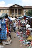 Mercado do Masai em Nairobi Foto de Stock