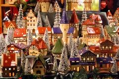 Mercado do Natal Fotografia de Stock Royalty Free