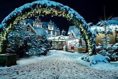 Mercado do Natal Foto de Stock