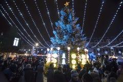 Mercado do Natal 2014(10) Imagens de Stock