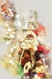 Mercado do Natal Fotografia de Stock
