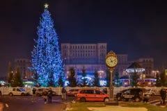 Mercado 2016 do Natal de Bucareste imagens de stock royalty free
