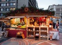 Mercado do Natal em Budapest Imagens de Stock Royalty Free