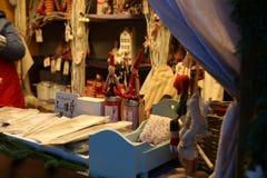 Mercado do Natal em Moscovo Foto de Stock