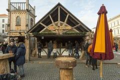 Mercado do Natal em Munich, Alemanha Foto de Stock Royalty Free