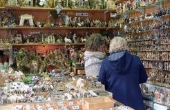 Mercado do Natal em Roma Imagem de Stock Royalty Free