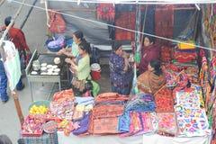 Mercado do ofício em Chichicastenango Imagem de Stock