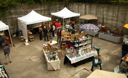 Mercado do oleiro Imagens de Stock