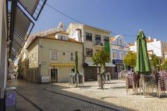 Mercado do Peixe square, Aveiro - Portugal Stock Image