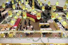 Mercado do vegetariano no festival central Chiangmai Imagens de Stock