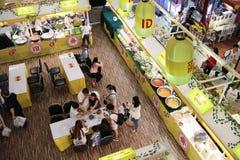Mercado do vegetariano no festival central Chiangmai Fotografia de Stock Royalty Free