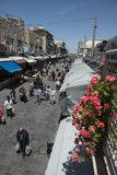 Mercado do yehuda de Machane do jerusael, Israel imagens de stock royalty free