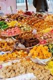 Mercado dos doces Imagem de Stock