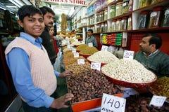 Mercado dos frutos secos Imagens de Stock Royalty Free