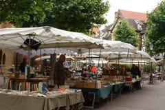 Mercado dos livros Fotografia de Stock