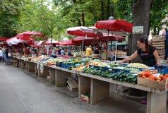 Mercado dos Pula Foto de Stock Royalty Free