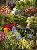 Mercado dos vegetais Foto de Stock
