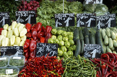 Mercado dos vegetais Imagens de Stock