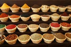Mercado egípcio da especiaria Fotos de Stock Royalty Free