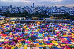 Mercado em Banguecoque Fotos de Stock