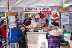 Mercado em Cuzco, Peru imagem de stock royalty free